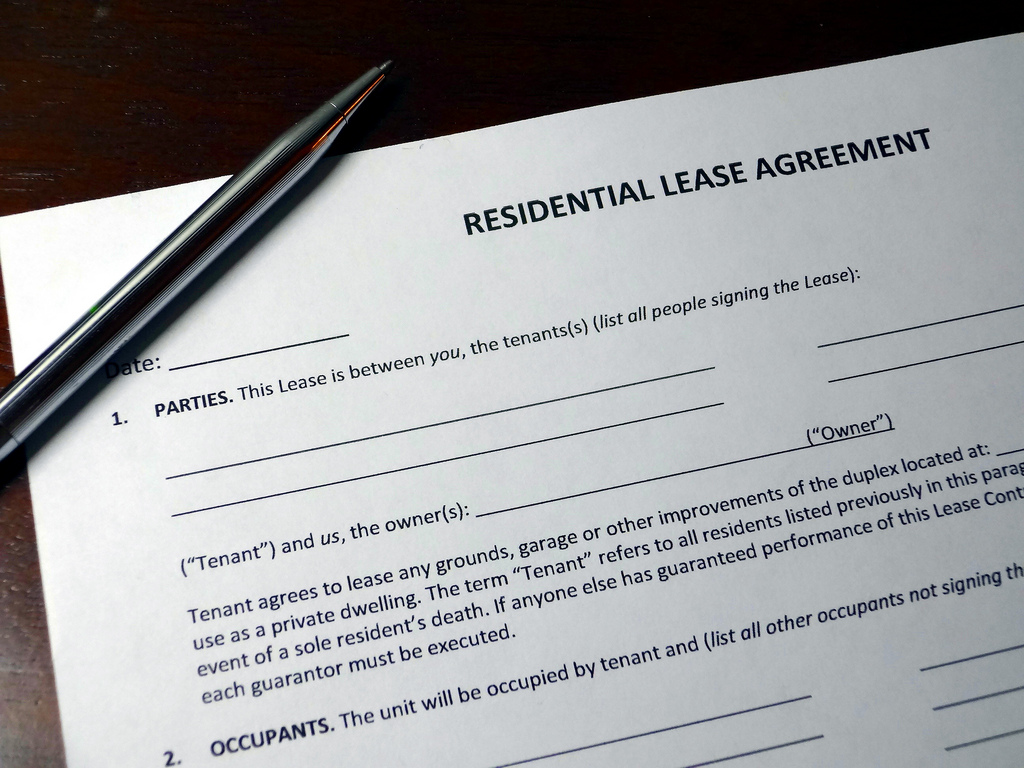 Leasehold agreements